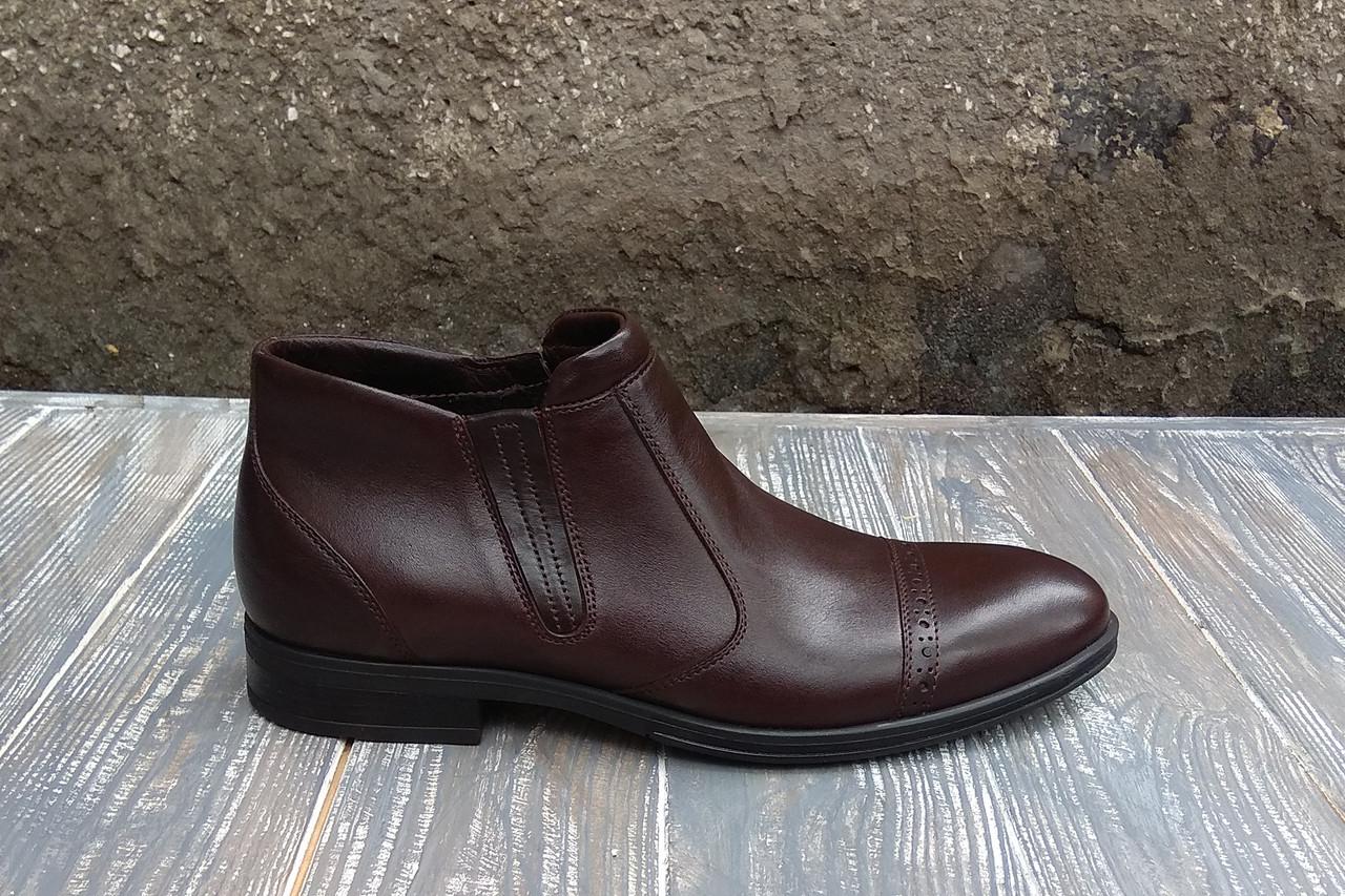 Теплі класичні черевики на цигейці - обирайте якісне взуття за помірною ціною!