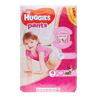 Подгузники-трусики Huggies pants для девочек