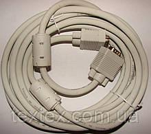 Кабель VGA/VGA 5м с ферритовыми фильтрами