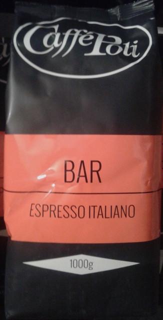 Кофе Caffe Poli Rossa Bar в зернах 1 кг