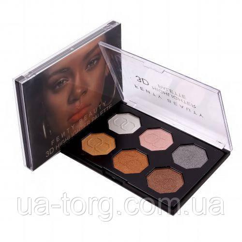 Хайлайтер для лица Fenty beauty by Rihanna 6 цветов №1