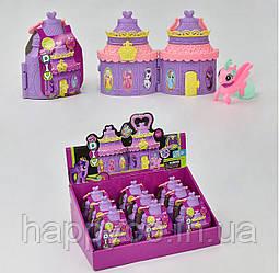Набор пони в миниатюрном замке игрушка  для девочек