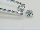 Бриллиант  натуральный природный идеально белый чистый купить в Украине 3,05 мм 0,11 карат 2/3-2/4, фото 5