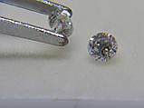 Бриллиант  натуральный природный идеально белый чистый купить в Украине 3,05 мм 0,11 карат 2/3-2/4, фото 8