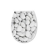 Крышка для унитаза Галька 372-3 Elif Plastik
