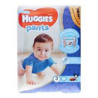 Подгузники-трусики Huggies pants для мальчиков