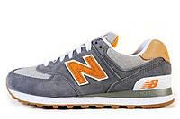 Оригинальные мужские кроссовки New Balance ML574PIB Нью Баланс ML574PIB серые