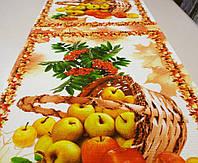 """Ткань вафельная ширина 50 см Яблочки / """"Чарівна Ніч"""", фото 1"""