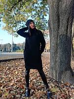 Платье-худи с шапкой ангора в расцветках 27601, фото 1