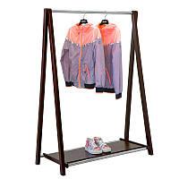 Стойка для одежды Fenster Модус 2П Коричневый 146X100X485