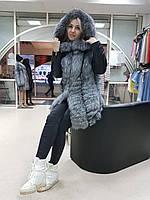 Шикарная куртка-трансформер из чернобурки, фото 1