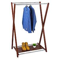 Стойка для одежды Fenster Модус 3П Коричневый 150X100X60