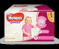Подгузники-трусики Huggies Pants Box для девочек