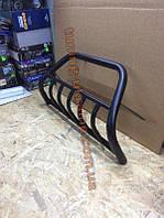 Кенгурятник крашенный цвет черный мат на Заз 1102 Таврия 1987-2007