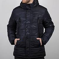 Мужская зимняя куртка пуховик черная камуфляж коламбия Columbia реплика ca0499ecded
