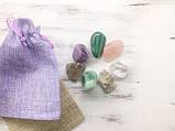 Камені для схуднення   Набір з семи натуральних каменів   Мінеральний еліксир, фото 4