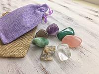 Камни для похудения | Набор из семи натуральных камней | Минеральный эликсир