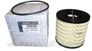 Масляный фильтр на Рено Мастер II G9T 2.2dci + G9U 2.5dci / Renault 7701479124