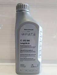Масло моторное  VW AUDI GS55545M2 Longlife III 0W-30  1л