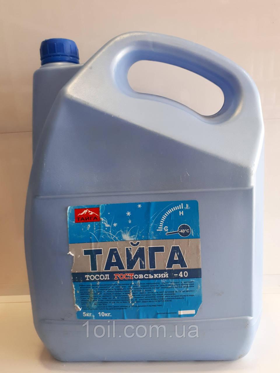Охлаждающая жидкость (готовая)    Тосол  ТАЙГА  А-25   10л