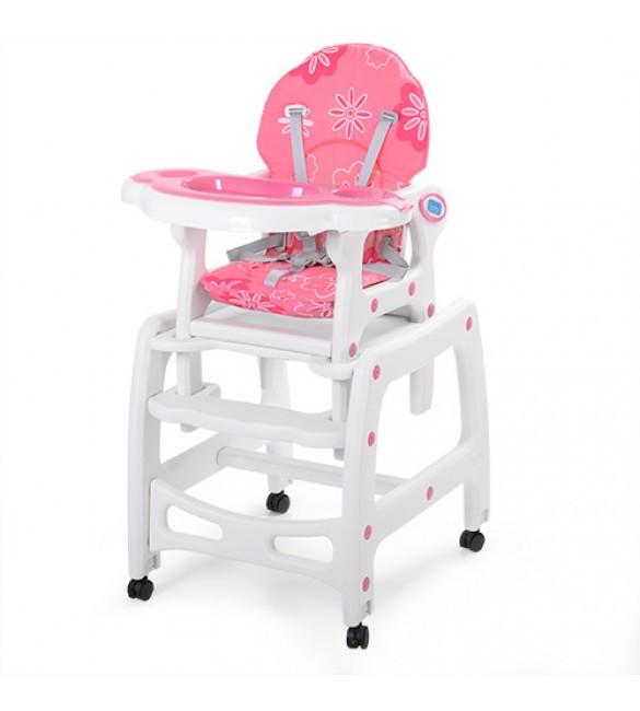 Детский стульчик для кормления трансформер Bambi M 1563-8-3