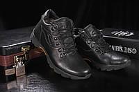 Мужские зимние ботинки Clarks Черные Cher