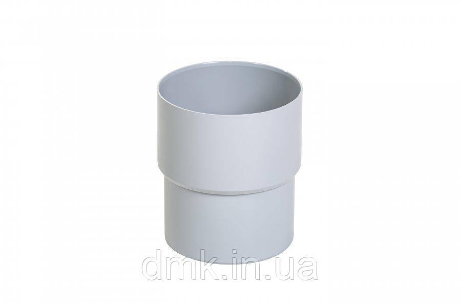 З'єднувач труби Fitt 165 світло-сірий