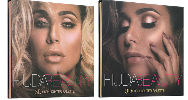 Палетка халайтеров Huda Beauty (Худа Бьюти) 3D Highlighter Palette