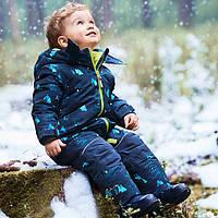 Зимнийтермокомбинезон Topolinoдля мальчика 116см  сдельный синий