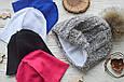 Флисовая подкладка для шапки 43см, Розовый, фото 5