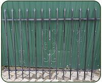 """Забор """"Роксолана""""  2x1.5м"""