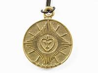 Амулет ВЕРА-НАДЕЖДА-ЛЮБОВЬ. Сердце - символ милости Божьей