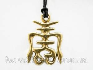 """Амулет SHOU """"Чоу"""" - древне-китайский символ долголетия, основа счастливой жизни."""