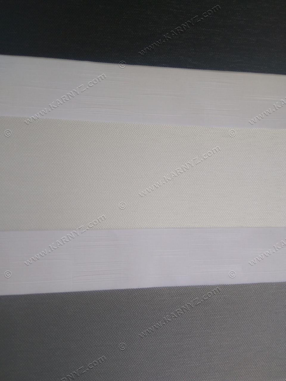 Ролета День-Ночь Панорама белый/серый/черный