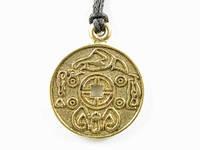 Амулет Корейская монета СЧАСТЬЯ. Инициирует поток счастья с четырёх сторон света