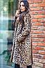 Женская шуба из иск. меха кролика в разных моделях. ВС-5-0819, фото 9