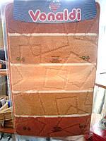 Коврики в ванную и туалет оранжевые производство Турция