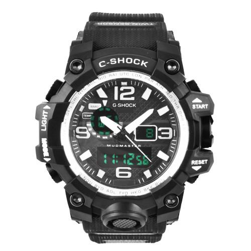 Часы наручные C-SHOCK GWG-1000A Black-Silver, BOX