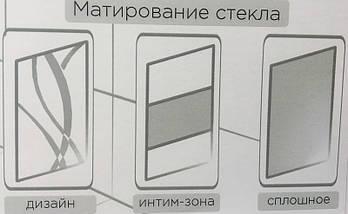 Душові двері матові Door 80см, фото 3