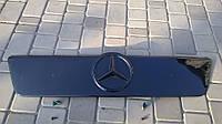 Зимняя накладка на решетку радиатора на Mercedes Sprinter CDI 2000-2006 старая FLY Глянец