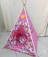 "Детский игровой домик, вигвам, палатка, шатер, шалаш, вігвам, ігровий будиночок дитячий ""Мишки"""