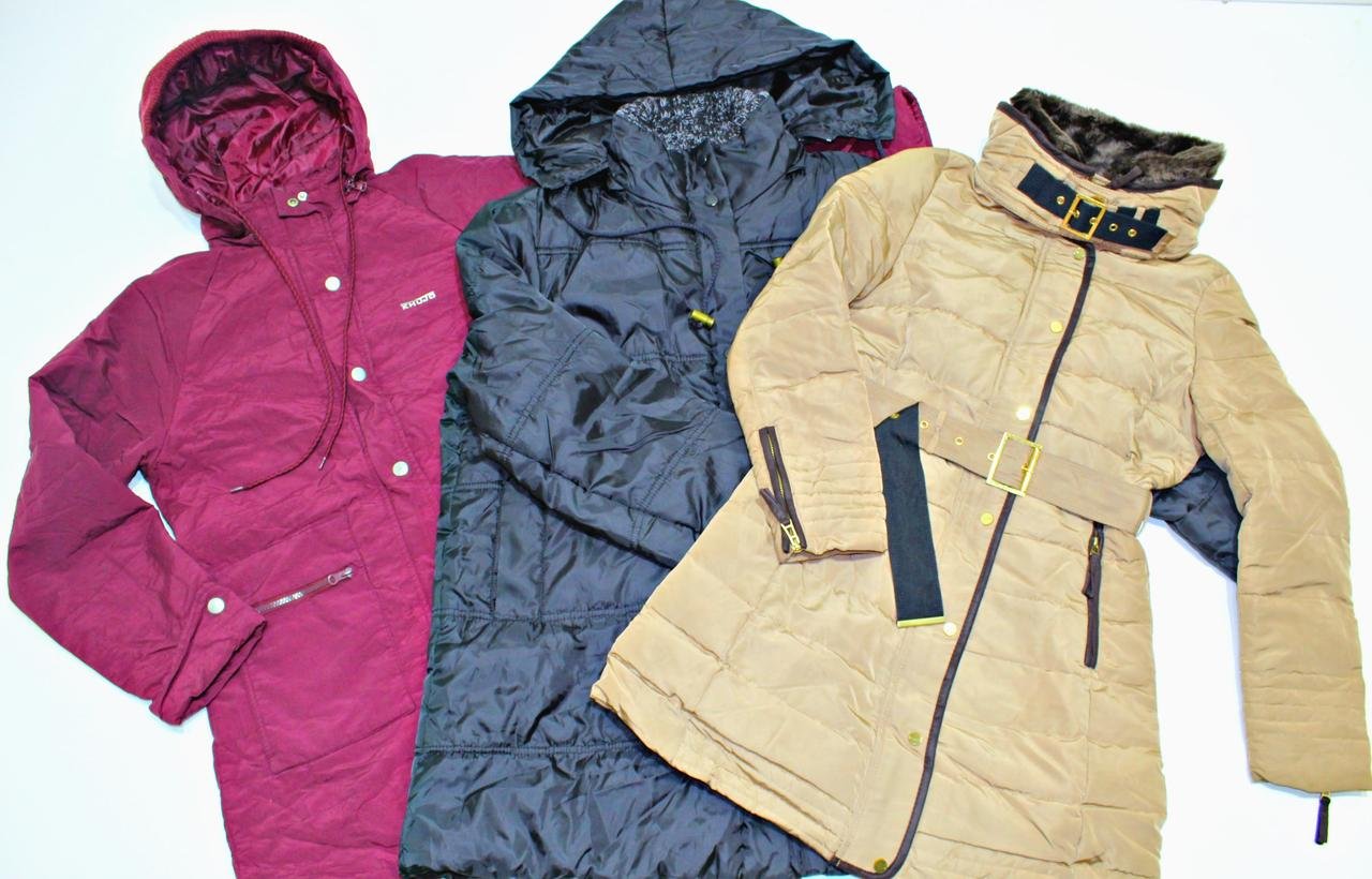 Секонд хенд куртки мужские и женские демисезон Англия Оптом от 20 кг