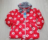 Детская зимняя куртка для девочки 7-9 лет