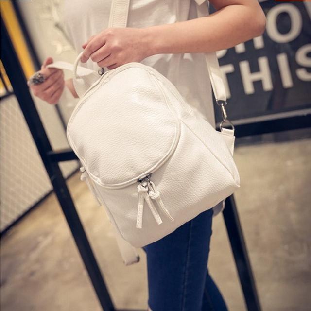 женский рюкзак из вельвета