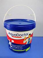 Средство для дезинфекции воды в бассейн Aquadoctor C60-Т (АкваДоктор С60-Т)  (1кг), шок хлор, таблетки по 20гр