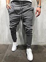 Чоловічі штани сірі 2Y Premium Р1032