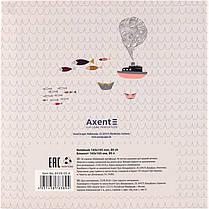 Блокнот Axent Maps 8438-05-A, интегральная обложка, 165х165см, 80 листов, нелинованный, фото 2