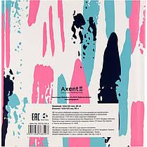 Блокнот Axent Touch 8438-08-A, интегральная обложка, 165х165см, 80 листов, нелинованный, фото 2