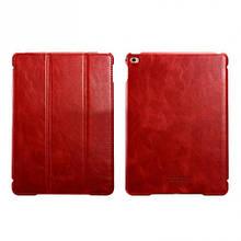 Чехол книжка кожаный Icarer Vintage Smart для Apple iPad mini 4 rid 797 красный