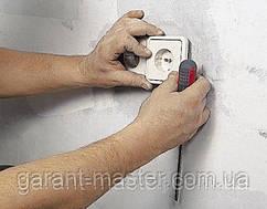 Установка и замена розеток и выключателей в Днепре
